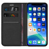 Leather Wallet Case & Card Holder Pouch for Apple iPhone 11 Pro Max - Black
